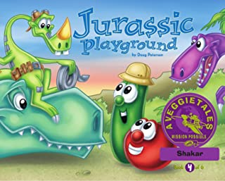 Jurassic Playground - VeggieTales Mission Possible Adventure Series #4: Personalized for Shakar (Girl)