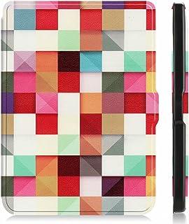 "for Kobo Clara HD 6"" Tablet Ultra Thin Slim Folio Sleep/Wake Up Leather Case Flip Smart Cover (Magic Cube)"