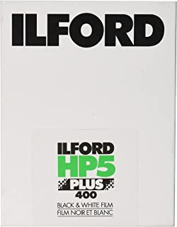 Ilford HP5 Plus 400 4 x 5 Inches 25 Sheets