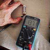 HASAGEI 4000 cuentas TRMS multímetro digital/ohmímetro/voltímetro de rango automático para resistencia/diodos/ciclo de ...