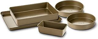 Best simply calphalon 5 piece nonstick bakeware set Reviews