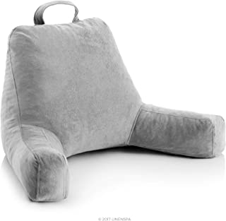 Almohada de lectura de espuma triturada Linenspa: perfecta p