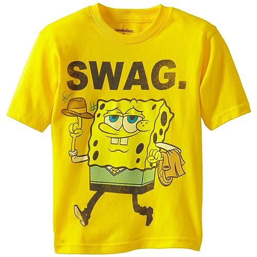 SpongeBob SquarePants Boys Short Sleeve T Shirt