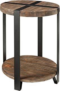Best round reclaimed wood end table Reviews
