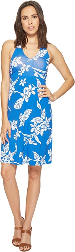 Hibiscus Hiatus Halter Dress