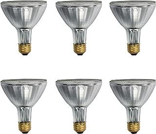 Philips 419747 EcoVantage PAR30 Long Neck 39 Watt (50 Watt Equivalent) 25 Degree Halogen Flood Light Bulb (6 Pack)