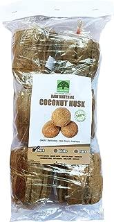 100% Natural & Organic Coconut Husk Fiber for Orchid Plants Basket Potting 6 pcs