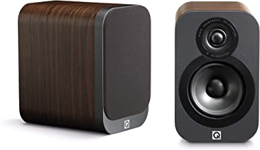 Q Acoustics 3010 Compact Bookshelf Speakers (Pair) (American Walnut)