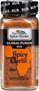 The Spice Hunter Global Fusion Rub Spicy Garlic 2 Ounce
