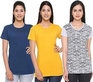 69GAL (105Women T-Shirt (Multicolors) (Pack of 3) (S/M/L/XL/3CL/5XL)