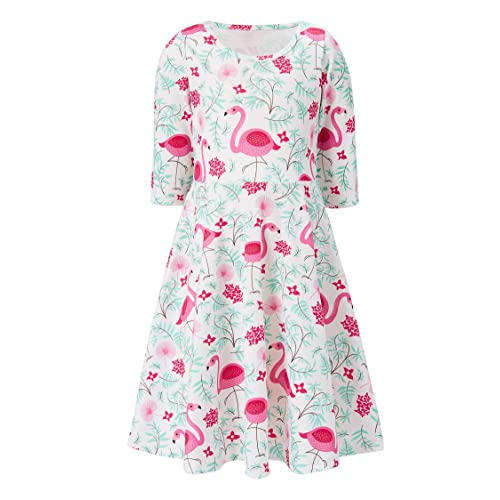 5646f8418be5 ALOOCA Girls Christmas Dress Baby Girl Christmas Clothes Long Sleeve Party Dress  Xmas Girls Dresses 4