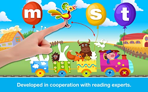 『Phonics: Fun on Farm - Reading, Spelling and Tracing Educational Program • Kids Learning Games Teaching Letter Sounds, Sight Words, ABC Flash Cards Quiz & Alphabet for Preschool, Toddler, Kindergarten and 1st Grade Explorers by Abby Monkey®』の9枚目の画像