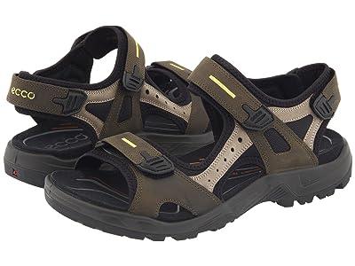 ECCO Sport Yucatan Sandal (Tarmac/Moon Rock) Men