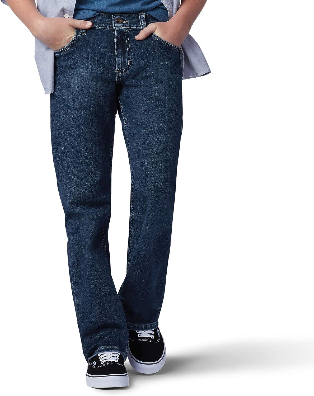 Lee Boy Proof Regular Straight Leg Fit 2021 spring and summer new Jean half