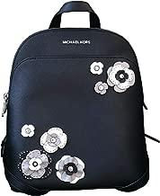 Michael Kors Emmy Large Leather Floral Backpack