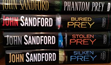 John Sanford's Prey Set (Phantom Prey, Buried Prey, Stolen Prey, Silken Prey)
