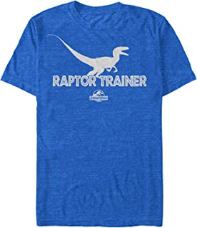 Jurassic World Men's Raptor Trainer Silhouette T-Shirt