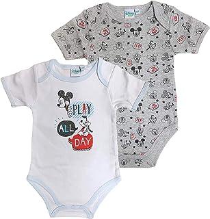 Body neonato Disney Mickey Mouse Pluto tutina Pagliaccetto in velluto bimbo 3409