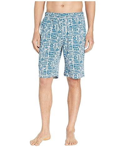 Tommy Bahama Cotton Modal Woodblock Heather Shorts (Woodblock Heather) Men