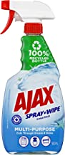 Ajax Spray n' Wipe Multipurpose Antibacterial Disinfectant Cleaner Trigger Surface Spray Ocean Fresh Made in Australia 100...