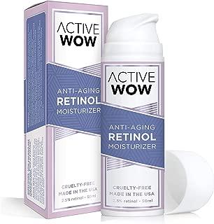 Active Wow Anti Aging Retinol 2.5% Moisturizing Cream