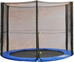 HOMCOM 8ft Trampoline Net Replacement Safety Net Enclosure Net Spare New