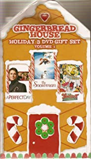 Gingerbread House Holiday Set - V1 (A Perfect Day, The Snowman, The Nuttiest Nutcracker)