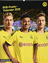 Borussia Dortmund Posterkalender. Wandkalender 2020. Monatsk