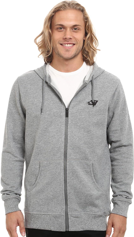 O'NEILL Men's Front Zip Fleece Sweatshirt Hoodie