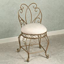 Touch of Class Gianna Vanity Chair Venetian Gold