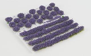 WWS Heide självhäftande remsor och knippa set av 2 mm, 4 mm eller 6 mm statiska gräsfibrer (4 mm)