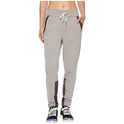 Under Armour Sportstyle Joggers (Charcoal/Brilliance/White) Women