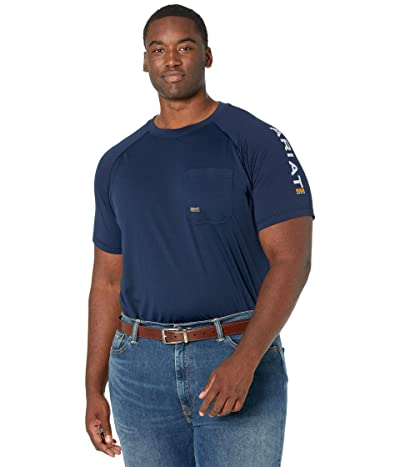 Ariat Big Tall Rebar Heat Fighter Short Sleeve T-Shirt