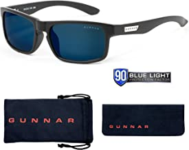 Blue Light Blocking Sunglasses |Enigma/Onyx by Gunnar | 90% Blue Light & Sun Protection (Blocks 100% UVA/UVB/UV Light), No...