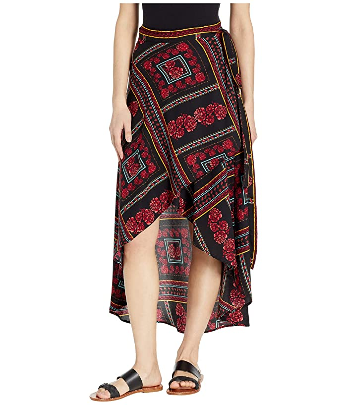 Rock and Roll Cowgirl 69-1443 Hi-Lo Skirt