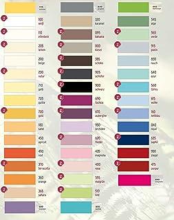 Estella Drap housse en jersey fin pour lit à eau dans toutes les tailles et de nombreux coloris, avec 1 écha...