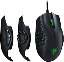 Razer Naga Trinity Gaming Mouse: 16,000 DPI Optical Sensor – Chroma RGB Lighting..
