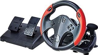 Volante Gamer com Marcha e Pedal, Multilaser, JS087, Acessórios para Computador