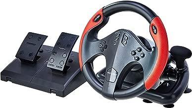 Volante Gamer com Marcha e Pedal, Multilaser, JS087, Acessó