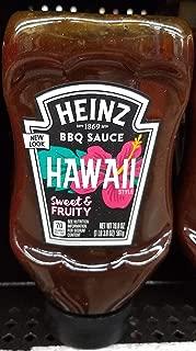 Heinz BBQ saurce hawaii sweet & fruity 19.8oz, pack of 1