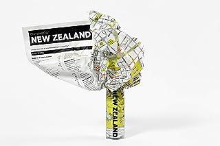 New Zealand Crumpled City Map (Crumpled City Maps)