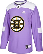 adidas Boston Bruins NHL Hockey Fights Cancer Men's Authentic Practice Jersey