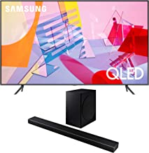"$1245 » Samsung QN65Q60TA 65"" Ultra High Definition 4K Quantum HDR Smart QLED TV with a Samsung HW-Q60T Wireless 5.1 Channel Soundbar and Bluetooth Subwoofer (2020)"