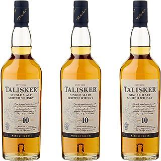 Talisker 10 Jahre, 3er, Single Malt, Schottland, Whisky, Scotch, Alkohol, Alkoholgetränk, Flasche, 45.8%, 200 ml, 677132