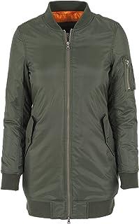 Urban Classics Jacke Long Bomber Jacket Chaqueta para Mujer