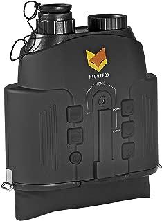 Nightfox 110R Widescreen Night Vision Binocular | Digital Infrared | 165yd Range | Recording Function
