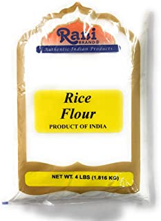 Rani Rice (White) Flour 4lbs (64oz) ~ All Natural | Gluten Free Ingredients | Vegan | NON-GMO | Indian Origin