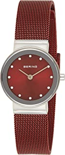 BERING Womens Analogue Quartz Watch with Stainless Steel Strap 10126-303