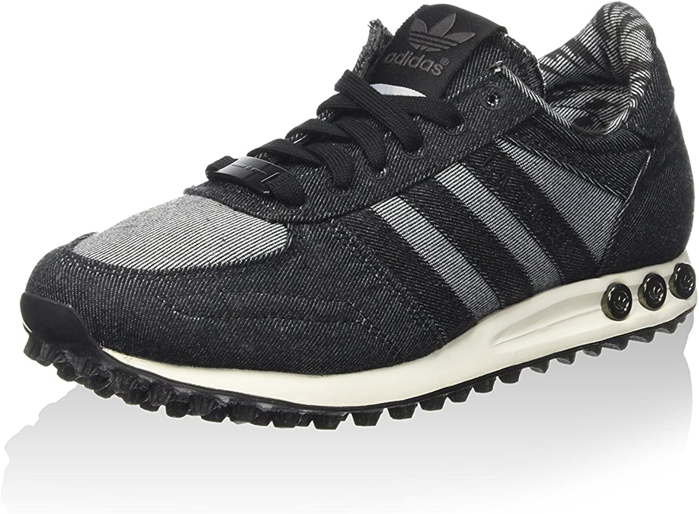 Adidas Herren La Trainer Turnschuhe schwarz, 44 EU Vielfalt