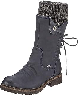 Rieker Damen Stiefel 94750, Frauen Winterstiefel,riekerTEX